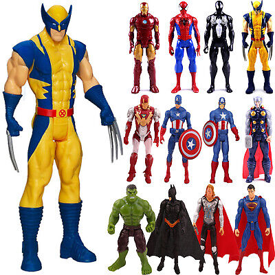 Marvel Avengers Super Hero Spiderman THOR Captain Wolverine Action Figure Toys