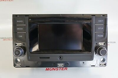 Original VW Bedieneinheit TouchScreen, Radio, Bluetooth, CD,SD 510035869C Touran