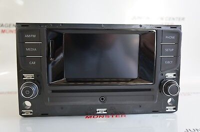 Original VW Bedieneinheit Touch Screen,Radio, Bluetooth, CD, SD 5G0035868 Golf 7