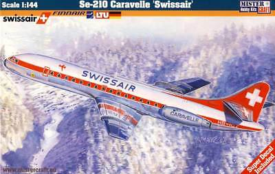 MC - Se-210 Caravelle Swissair Finnair LTU Germany 1:144 Modell-Bausatz NEU kit