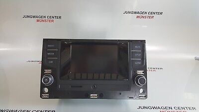 Original VW Bedieneinheit Touch-Screen, Radio, SD 510035887A Golf 7 Touran