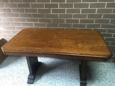 Wooden Antique Dining Table and Chairs