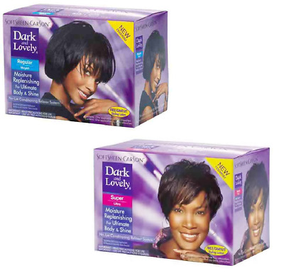 Dark and Lovely No-Lye Hair Relaxer Regular or Super *UK SELLER *