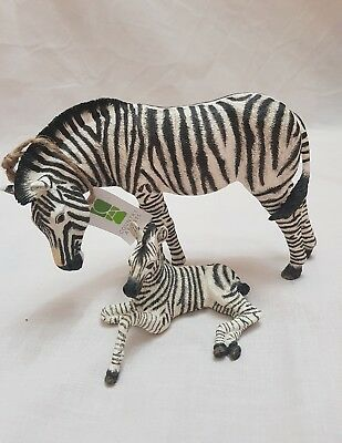 *seller away*Country Artist- The Natural World- Zebra And Foal Figurine Ornament
