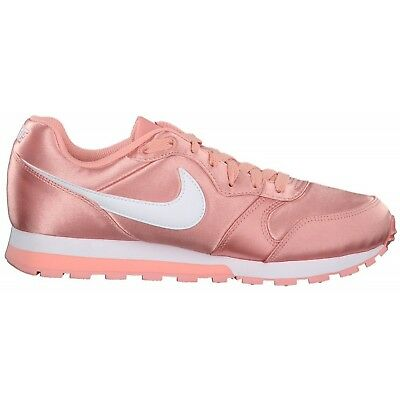 newest 76c9e 71c82 NIKE WMNS MD RUNNER 2 ROSE Baskets Sportif Fitness Chaussures Pour Femmes  749869