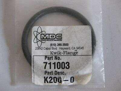 A Lot of 2 MDC 711003 O-Ring Replacement NW50