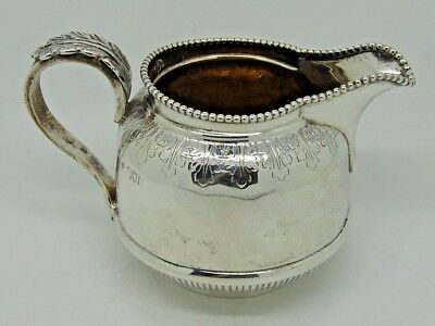 Antique Edward VII Silver Cream Jug London 1905 – Charles Boyton & Son Ltd 246g