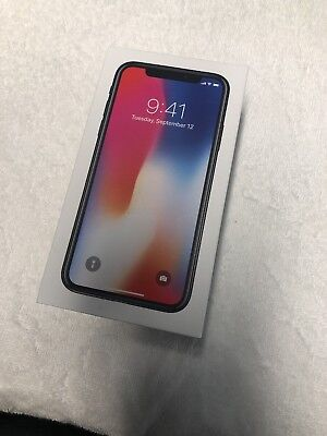 iPhone X 256GB Space Gray BOX & Accesories ONLY