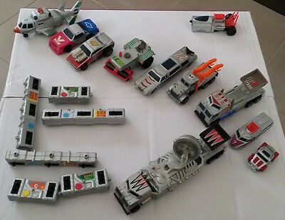 Bulk Lot of Matchbox Connectables (10 Cars & Extras / 34 Pieces)