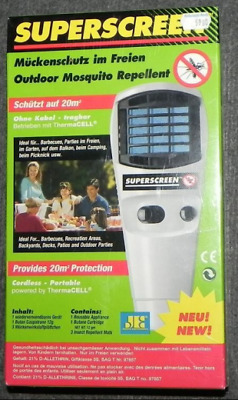 Superscreen Outdoor Mosquito Repellent operated by ThermaCELL Catridge