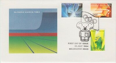 Olympic Games, Los Angeles (PO FDC) 1984 (CV$3.60)