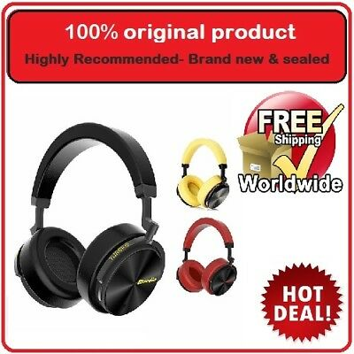 Bluedio T5 Active Noise Cancelling Wireless Bluetooth Headphones + microphone
