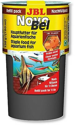 JBL Novobel Novo Bel REFILL 750ml for Original 1L (1000ml) Tubs Flakes Fish Food