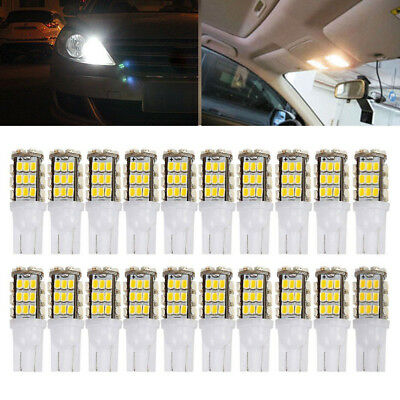 20x 12V Backup Reverse LED Lights Bulbs Warm White T10/921/194 RV Trailer 42-SMD