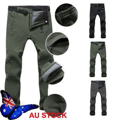 Men's Windproof Waterproof Sport Pants Outdoor Hiking Camping Casual Trousers