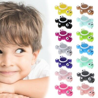 Cute Silicone Beads Turtle Teether Baby Teething Toys Funny DIY Jewelry Making