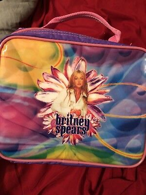 Britney Spears RARE Lunchbag Lunch Box Oops I Did It Again Official 2001