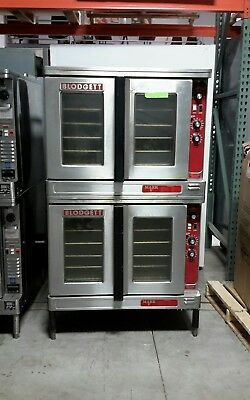 Used Blodgett Mark-V-111 Double Deck Electric Convection Oven