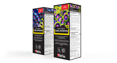 Red Sea Reef Energy A B 500ml Twin Pack 2 Part Coral Additive Reef Aquarium