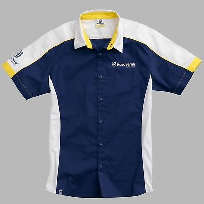 Husqvarna Genuine Merchandise Team Shirt Motorcycle Bike Gift Idea