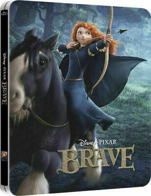Brave 3D - Limited Edition Steelbook [Blu-ray 3D + Blu-ray] New & Sealed!!