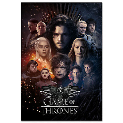 Game of Thrones Season 8 Poster - Exclusive Design - High Quality Prints