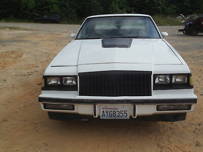 1986 Buick Regal GRAND NATIONAL 1986 BUICK GRAND NATIONAL