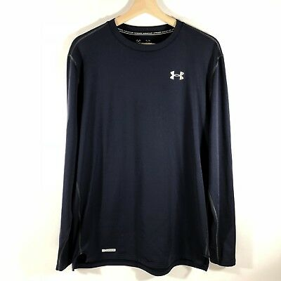 Under Armour 1246915 478 Blue Men/'s Fitted Cold Gear Infrared Shirt Sz M 2XL NWT