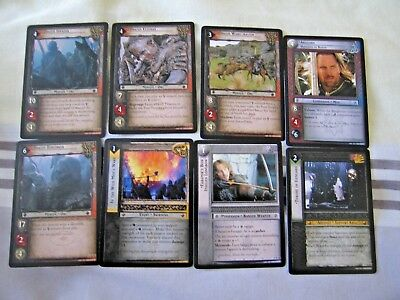 Lord Of The Rings - TCG The Rise Of Saruman Over 200 Cards .Rare ,UC & C.