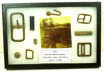 Artifacts from the Custer Black Hills Expedition - 1874 * authentic *
