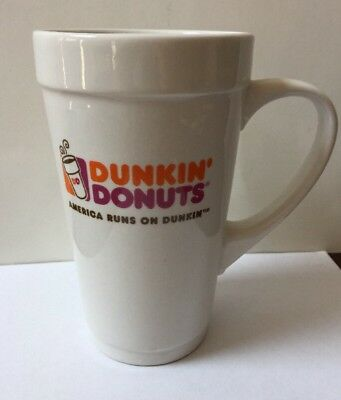 Dunkin Donuts Ceramic Coffee Mug Large Excellent