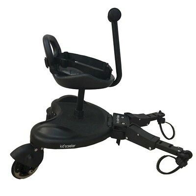 Patinete + asiento Kid´s Scooter - Colores - Negro