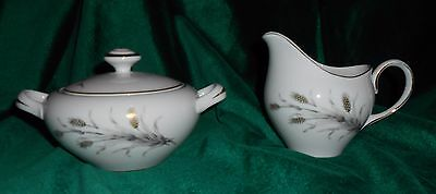 Empress China Fiesta  Sugar Bowl & Creamer Made in Japan #1109