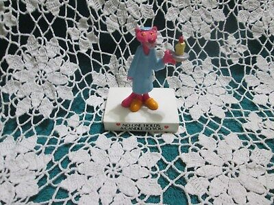 """Vtg 1989 Pink Panther """" No One Holds A Candle To You"""" Figurine United Artists"""