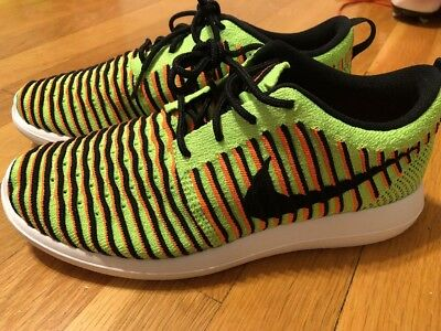 save off d3908 9f13e NIKE ROSHE TWO Flyknit (GS) 844619 300 Size 4.5y New Youth