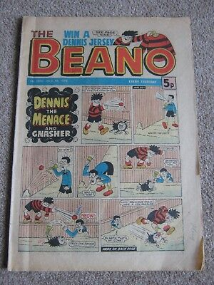 Beano comic #1890 - 07 Oct 1978 - ideal 40th birthday present