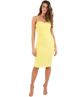 181540f7 BLACK HALO YELLOW Clover Sheath Dress 14 - $179.00 | PicClick