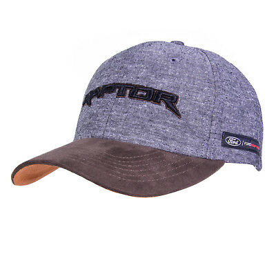 NEW Ford Grey and Brown Raptor Hat Baseball Cap F150 SVT Shelby Super Duty