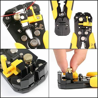 Cable Stripper Cutter Tool Self Adjusting Wire Ultimate Self Adjusting Stripping