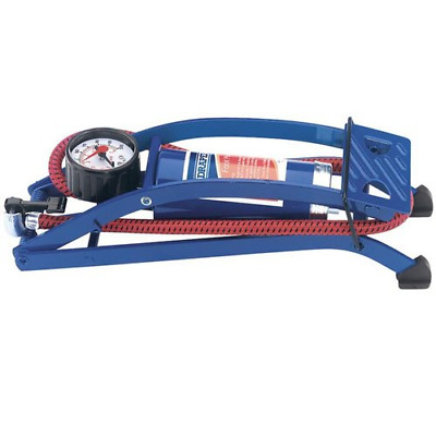 Draper 14172 Foot Pump with Pressure Gauge