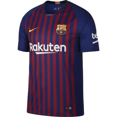 Nike Barcelona FC HOME Adult New Season 2018-19 Mens Jersey Shirts S - XXL Sizes