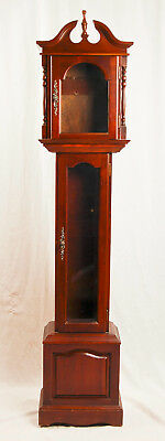 Emperor grandfather clock case only @ 1980s Nice