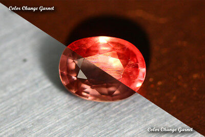 2.035 Ct Very Rare Natural From Earth Mined *color Change Garnet* Aaa+ Gem~!!!