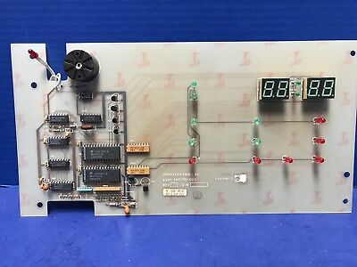 Thermco 140170-001 Operator Panel PCB Assembly, Used