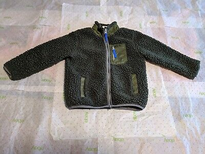 Hanna Andersson Outdoor Sweater Boys 4T Green