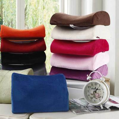 Memory Foam Seat Cushion Lumbar Back Support Pillow for Office Home Chair Car US