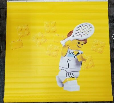 Lego Tennis Player Vinyl Toys R Us Store Banner 4