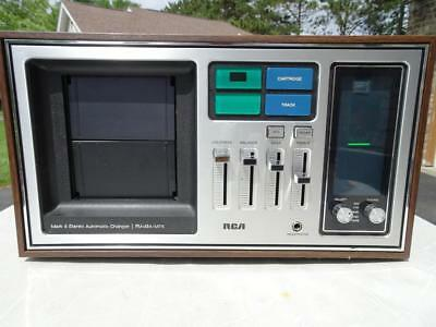 Vintage Rca Mark 8 Stereo Automatic Changer Am/fm 8 Track Player