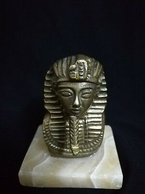 Antic.Ancient Pharaonic Brass Statue