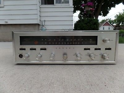 Sansui 1000 Tube Receiver Model 1000 / Read All & See All Pictures